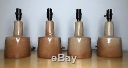 Set of 4 Vintage Jane & Gordon Martz for Marshall Studios Ceramic Table Lamps