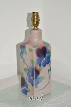 Studio Pottery Lamp Base Avis Murray / Gardner Dartington Devon Vintage (1kg)