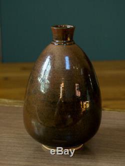 Studio Pottery Vase F. Carlton Ball (1911-1992) Wisconsin MCM Vintage Ceramics