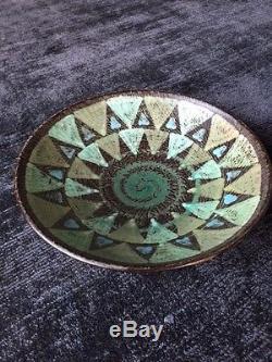 Stunning Rare Vintage Danish Studio Pottery Kai Klinge Bowl