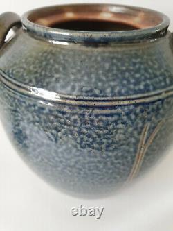 Stunning Vintage Toff Milway Large Studio Pottery Storage Jar
