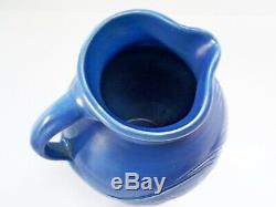 Stylish Vintage Susie Cooper Art Deco Blue Ram & Deer Studio 8.5 Jug/pitcher