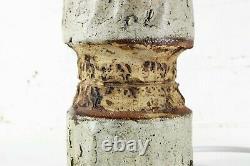 Table Lamp A Vintage British Studio Pottery Lamp 1960s Bernard Rooke Era