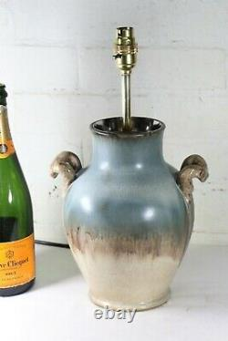 Table Lamp A Vintage English Studio Pottery Lamp Mid Century Era