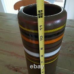 Tall Vintage VASE Created in Italy for Rosenthal Netter Ceramic Pottery Studio