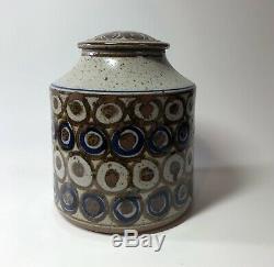 Tom Coleman Jar Studio Pottery MCM Abstract Vintage Mid Century Modern