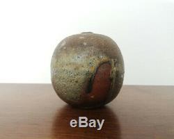 Uwe Löllmann Anagama Holzofen Keramik Vase Studiokeramik German Art Pottery