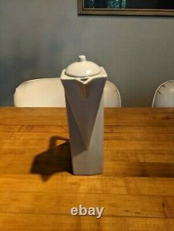 VTG 1980s Pierre Casenove Art Deco Salins Studio France Tea Pot with lid