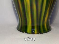 Vintage 1930's Awaji Art Studio Japanese Pottery Vase