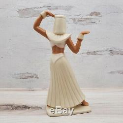 Vintage 1955 Ceramic Arts Studio Madison, WI Egyptian Lady Figurine #467 9.5