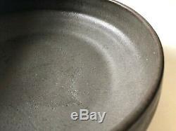 Vintage 1960's 1970's Mid Century Modern Ceramic Stoneware Studio Pottery Bowl