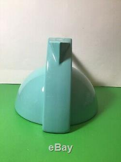 Vintage 1980s Pierre Casenove Salins Studio France Memphis Art Deco Teapot