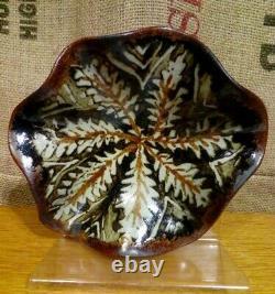 Vintage Alan Ward Studio Pottery Centrepiece Tazzo. Derbyshire Art Pottery
