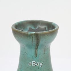 Vintage American Studio Arts & Crafts Art Pottery Vase Signed HTP or THP PT