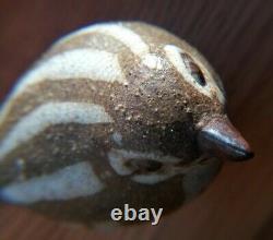 Vintage Andersen Design Studio Pottery Red Clay Pottery Bird Bird Figurine