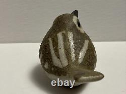 Vintage Andersen Design Studio Pottery Red Clay Pottery Bird Wren Figurine
