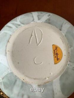Vintage Anderson Design Studio Pottery Vase/bowl Tree Pattern Modern Organic