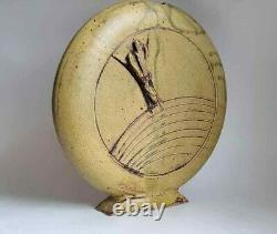 Vintage Art Crafts Deco Studio Cranbrook Pewabic Pottery Era Vase Signed Unknown