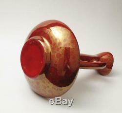Vintage Australian Studio Pottery Jug Ewer Vase Ellis MID Century