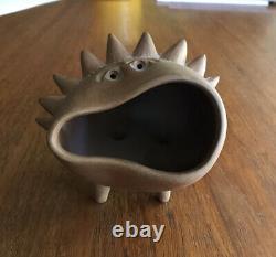 Vintage BIG Robert Maxwell Studio Pottery MCM Beastie Critter Sculpture Figure 6