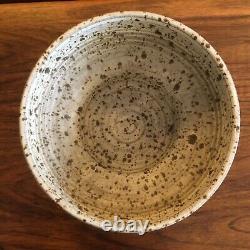 Vintage BRUCE TOMKINSON California Studio Art Pottery Console Bowl