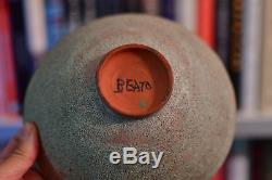 Vintage Beatrice Wood Studio Clay body beato bowl