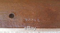 Vintage Bernard Rooke Stamped English Studio Art Pottery Lamp Base Retro