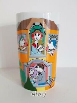 Vintage Bjorn Wiinblad Rosenthal Studio Linie Vase