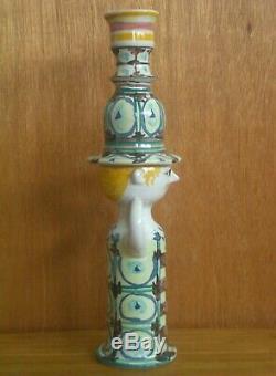 Vintage Bjorn Wiinblad Studio Pottery Figure Candlestick 1965 vase rosenthal