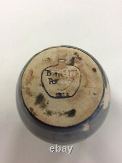 Vintage Bottle Hill Pottery 1922 New Jersey Studio Pottery Arts & Crafts Vase