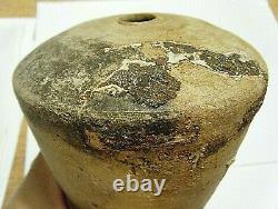 Vintage Brutalist Minimalist Gravity Defying Vintage Studio Pottery Vase