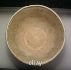 Vintage Brutalist Modernist Studio Art Pottery Bowl Mid Century