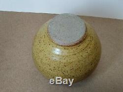 Vintage CLARY ILLIAN Jar/Vase MacKenzie Leach Interest Studio Pottery