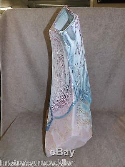 Vintage California Studio Evans Design Free Form Modernist 20 Vase