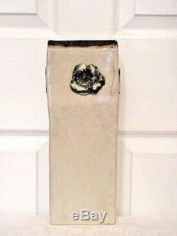 Vintage Canadian Studio Art Pottery Vase By Artist Marion Lewis (1910-) / Signed