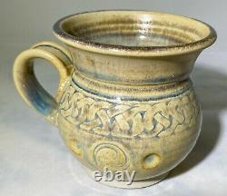 Vintage Celtic Clays Carlingford Studio Pottery Set Mugs and Bowls