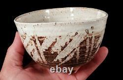 Vintage Charlotte Walker California Studio Art Pottery Bowl Mid-century Modern