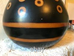 Vintage Chulucanas Peru Pottery Vase Genaro Paz C 20th Century Modernist