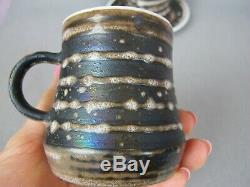 Vintage Cinque Ports Studio Pottery The Monastery Rye DINNER SERVICE SET. Plates
