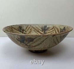 Vintage David Batz Studio Pottery Bowl Stoneware