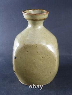 Vintage David Leach Lowerdown Studio Pottery Signed Vase Son of Bernard Leach