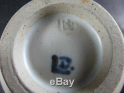 Vintage David Leach Studio Pottery Lidded Pot Signed DL Son of Bernard Leach