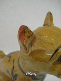 Vintage Devon Ware Hart Moist Exeter Grotesque Dog Animal Studio Art Pottery