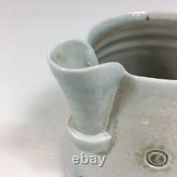 Vintage Doherty Studio Pottery Jug Stamped 9.5cm In Height