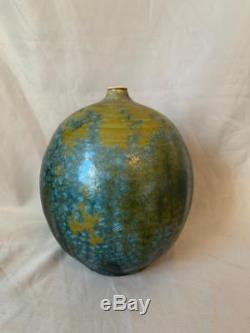 Vintage Don Johns Studio Art Pottery Vase Mid Century Modern Nice