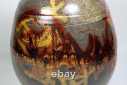 Vintage Early Unsigned Wayne Ngan Studio Canadian Art Pottery Vase