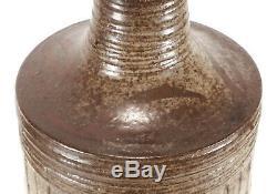 Vintage Edwin A. Cadogan Studio Art Pottery Bottle Vase Listed California Artist