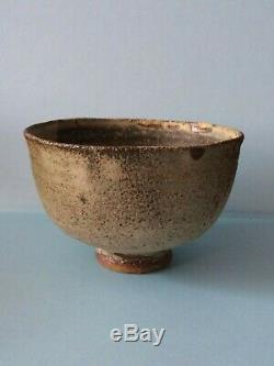 Vintage FINE Studio Pottery CHAWAN matcha teabowl Joanna Constantinidis