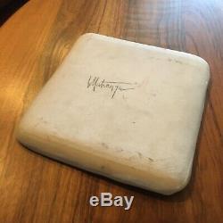 Vintage FRANK MATRANGA Mid Century Modern Studio Art Pottery Platter Cressey Era