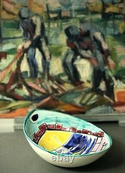 Vintage French Pottery. Vallauris. Picasso, Capron Connection. H. Faribole